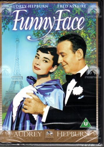 FUNNY FACE DVD R2 - Audrey Hepburn Fred Astaire - BRAND NEW & SEALED - FREE POST