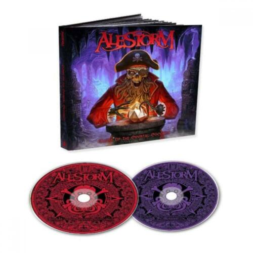 Alestorm - Curse Of The Crystal Coconut (Deluxe Ed. 2CD Mediabook - bonus 16th C