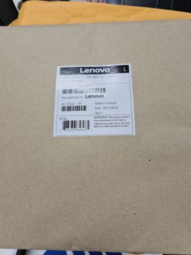 00MN502 - Lenovo 1m LC-LC OM3 MMF Cable