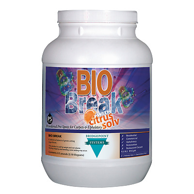 Bridgepoint Bio Break Citrus, Heavy Duty Carpet Cleaning Chemical