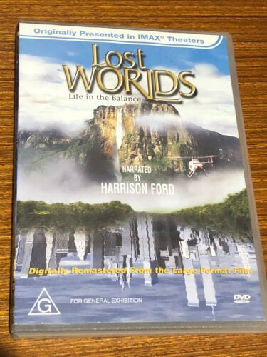 Imax - Lost Worlds (DVD, 2002) Very Good Condition Region 4