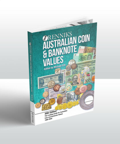 2020 Renniks Australian Coin & Banknote Values 30th Ed. Softcover