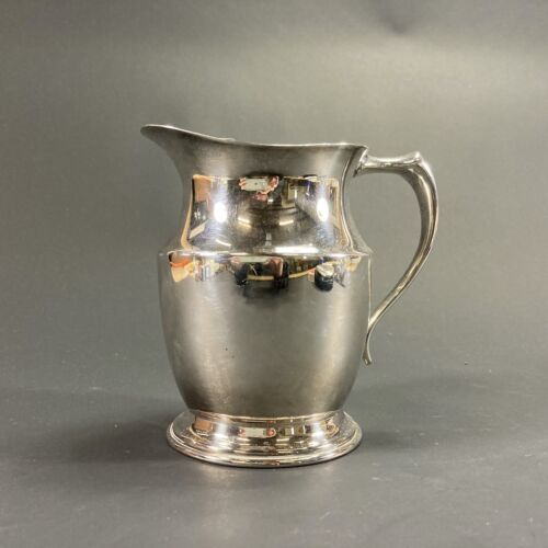 VINTAGE RETRO CRUSADER REPRODUCTION SMALL SILVER PLATE EPNS PITCHER JUG