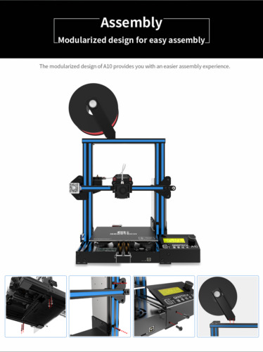 3D Printer Geeetech A10 Aluminum Easy-to-assemble High Quality
