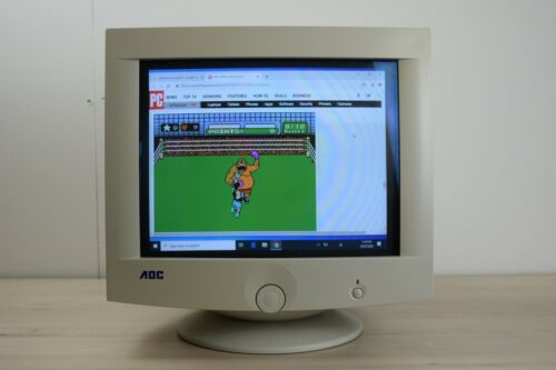 "AOC 15"" CRT Monitor - Perfect for Gaming - Model  7VLR"