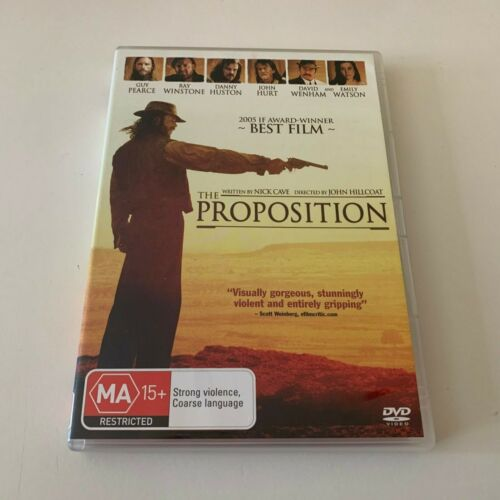 The Proposition - Guy Pearce (DVD) Australia Region 4