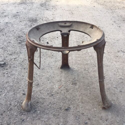 Vintage Cast Iron Copper / Boiler Stand