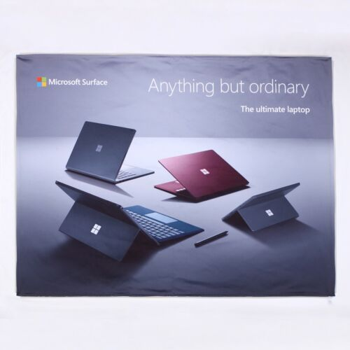 Promotional Microsoft Surface 'Anything But Ordinary' Advertising Fabric Banner