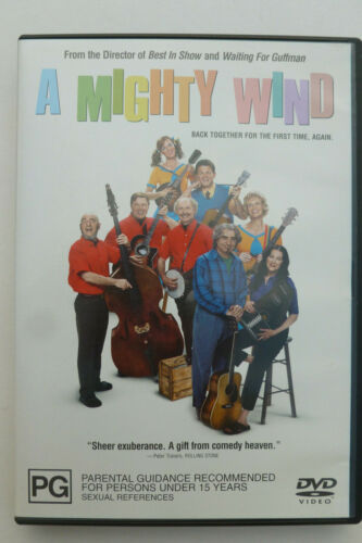 A Mighty Wind Rare DVD - Eugene Levy Comedy Movie - Free Post