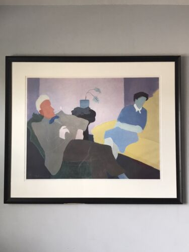 MILTON AVERY LITHOGRAPH POSTER 1984 VINTAGE CUBIST MODERN IMPRESSIONIST MUSEUM