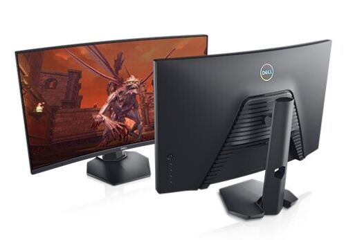Dell 27 Curved Gaming Monitor – S2721HGF Full HD 1080p 144Hz AMD FreeSync