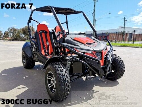 300CC Dune Buggy Off Road Water Cool UTV 2 Seater 4 Wheel Go kart Auto FORZA 7 <br/> Right-hand Drive,Twin Seats, Adults, Water cool, Led