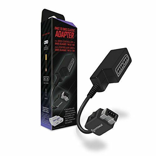 Hyperkin Controller Adapter for SNES to SNES Classic Edition/ Wii U/ WII [video