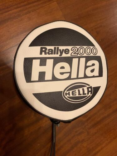 Leather Cover for Hella Rallye 2000 extra lights