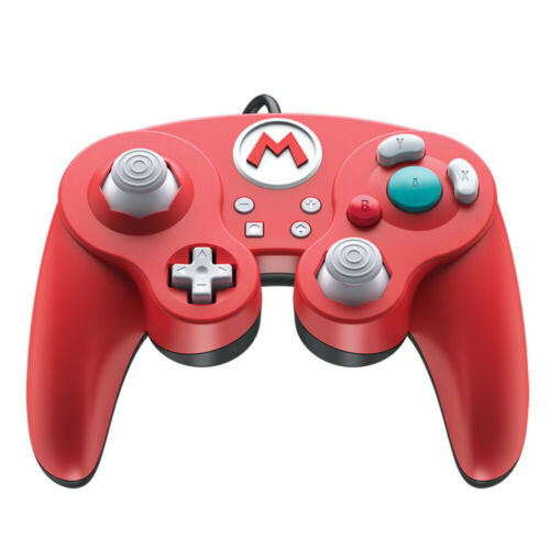 PDP Wired Fight Pad Pro Mario Edition Controller for Nintendo Switch NEW