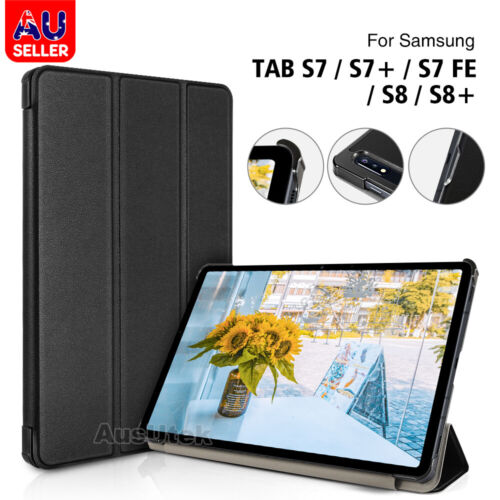 For Samsung Galaxy Tab S7 S7+ Plus T870 T970 Folio Smart Heavy Duty Case Cover