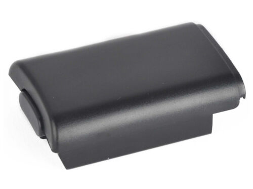 Xbox 360 Controller Battery Shell Cartridge Cover Pack Black Brand New