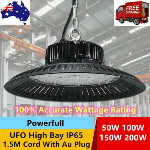 UFO LED High Bay Light 100W 150W 200W Warehouse Industrial Factory Light Lamp AU