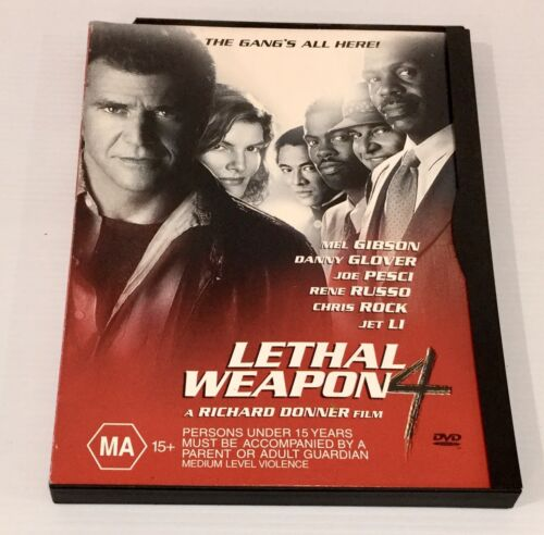 Lethal Weapon 4 Double Sided Disc