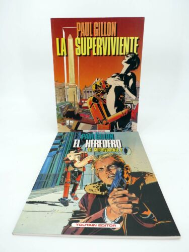 LA SUPERVIVIENTE 1 Y 2 (Paul Guillon) Toutain editor, 1990. OFRT