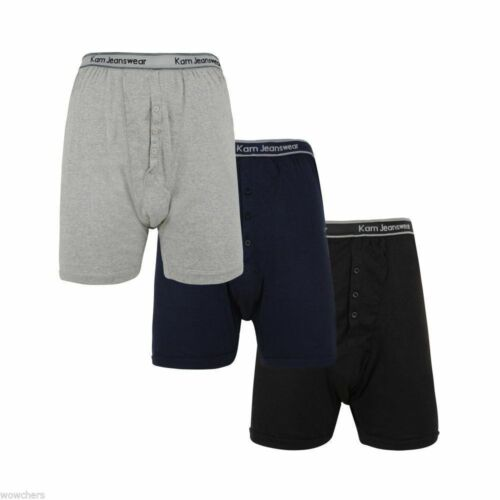 Loose Boxers Big & Tall Underwear for Men Boxer Shorts Multipack 3XL 4XL 5XL 6XL