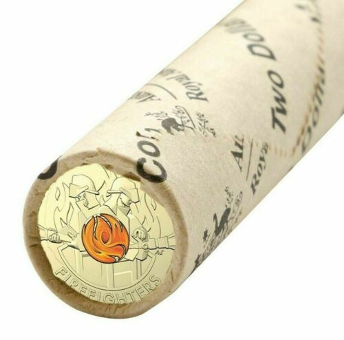 FREE POST- 2020 AUSTRALIA'S FIREFIGHTERS $2 OFFICIAL RAM MINT ROLL -IN STOCK NOW