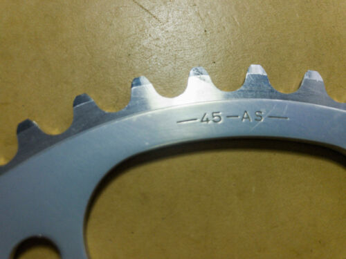 CORONA Campagnolo C RECORD Chainring 45 AS BCD135 Road NOS new senza busta