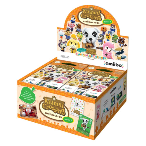 Animal Crossing amiibo Cards Box Series 2 NEW