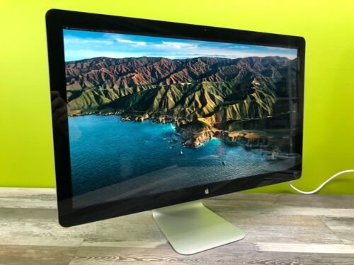 "27"" Apple Cinema Display IPS LED Monitor 2560x1440  Built In Speakers and WebCam"