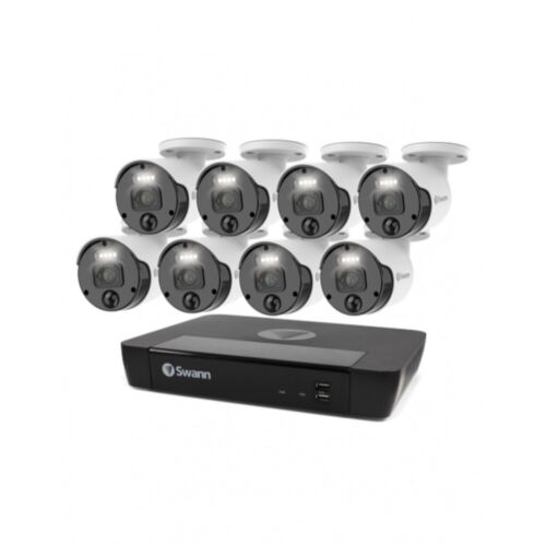 Swann Master-Series 4K HD 8 Camera 8 Channel NVR Security System