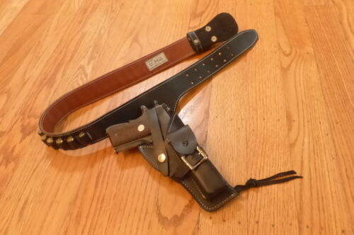 US ARMY ARVN VIETNAM COLT 45 HOLSTER VIETNAMESE MADE AMMO COWBOY WESTERN BELT Reproductions - 156445