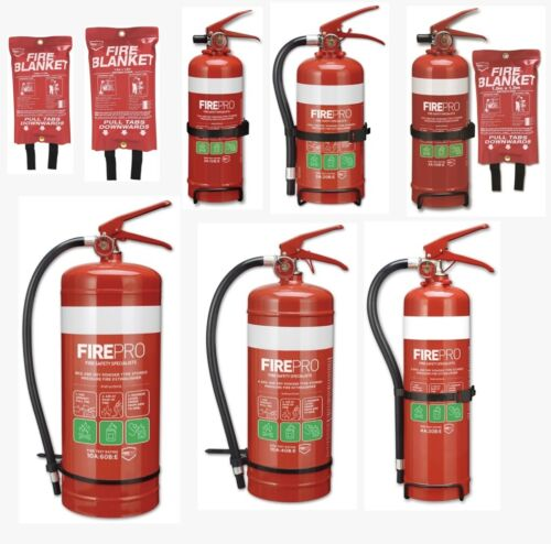 Fire Pro Dry Powder Fire Extinguisher / Fire Blanket