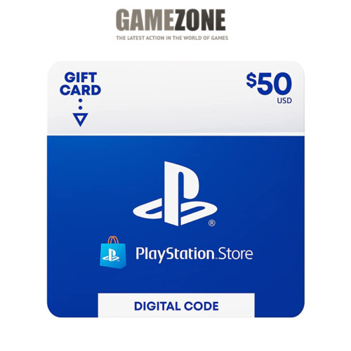 $50 PlayStation Store USD Card - PS PSN US Store - Instant Code PS4/PS3/PSP