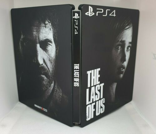 LOTTO STEELBOOK - THE LAST OF US + TOMB RAIDER - PLAYSTATION 4 (PS4 PS3 XBOX PC)
