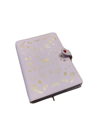 Kikki K Leather 'life Is Wonderful 'Notebook Excellent Condition Like New