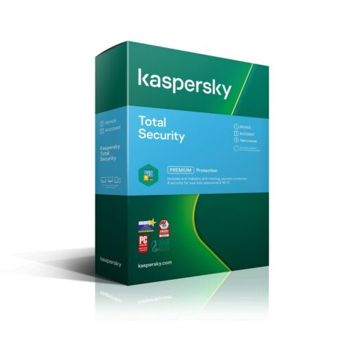 Kaspersky Total Security 2021 1 Device 1 Yr Email Key