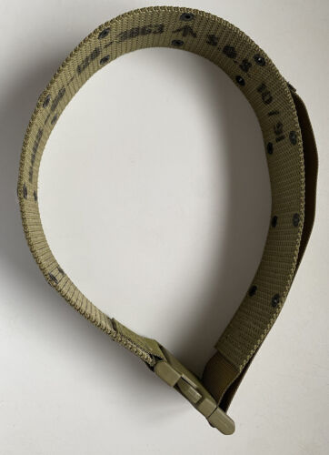 Australian Army Khaki Belt For M88 Webbing With Fastex Buckle surplus issueModern, Current - 36066