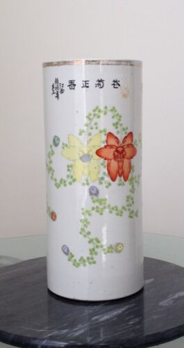Chinese porcelain cap pot
