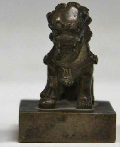 ANTIQUE CHINESE COPPER SEAL