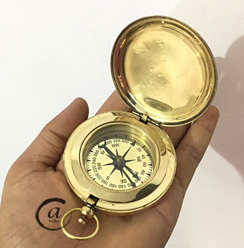 Christmas Desk Direction Decoration Compass Nautical Mile Camping Compasses(