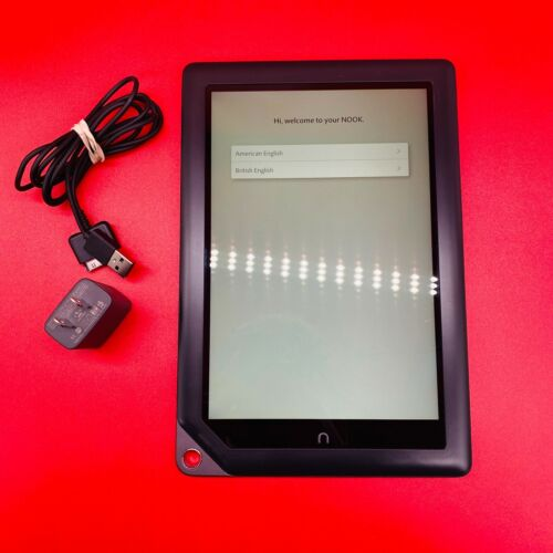 BARNES AND NOBLE NOOK HD+ PLUS BNTV600 16GB 9 INCH TABLET PC Wi-Fi eReader Cord