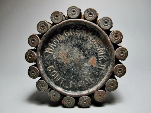 RARE ANTIQUE CRAFT WORK LEADS WCC69 BULLETS MILITARY MACHINEBullets - 103996