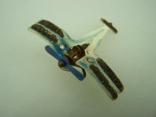 1920's fundraising celluloid hinged wing plane badge brooch clip            16891914 - 1918 (WWI) - 13962