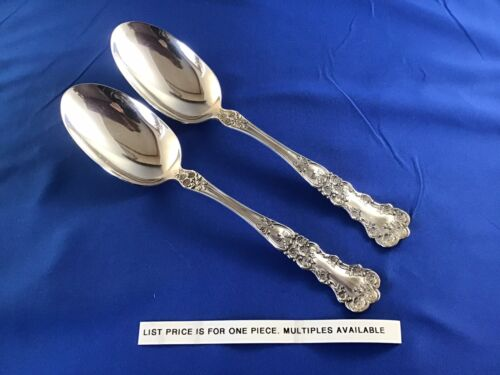 "1 Gorham Buttercup Sterling Silver 8-1/2"" Large Serving Spoon NO mono"