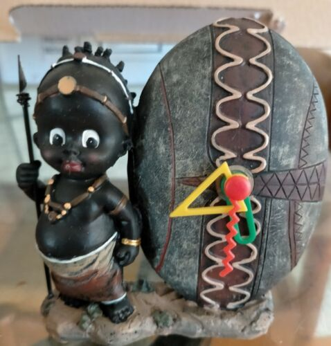 African American Figurines Antique Collectable Set of 14