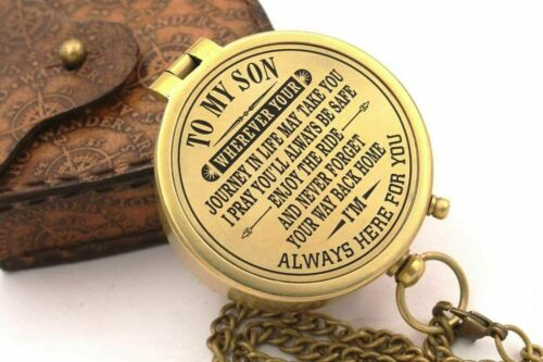 Engraved Compass,To My Son Compass,My Son,To My Son,Son from Dad,Gift