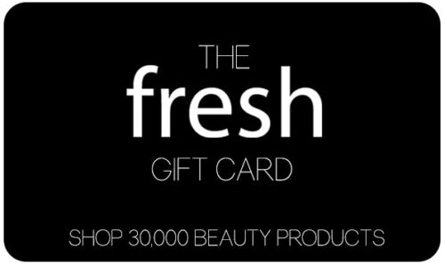 NEW Fresh GIFT CARD Value $25 Pay only $22 Buy Cosmetics  Perfume  Skincare