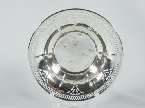 Antique Vintage Manchester Co American Sterling Silver Small Food Bowl Dish 568