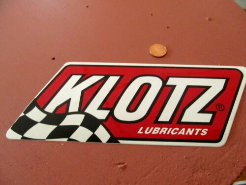 KLOTZ  Sticker / Decal Automotive RACING OLD STOCK