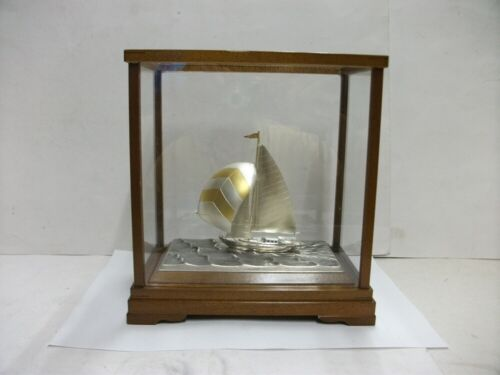 The sailboat of 985 Sterling Silver of Japan. #41g/ 1.44oz. TAKEHIKO's work
